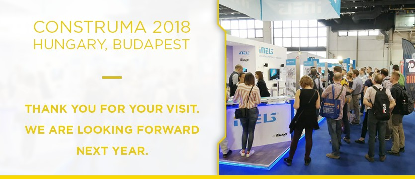 Back at Construma in Budapest after one year photo