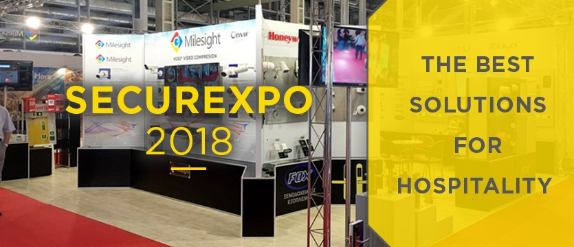 SECUREXPO 2018 - the best for hospitality solutions photo