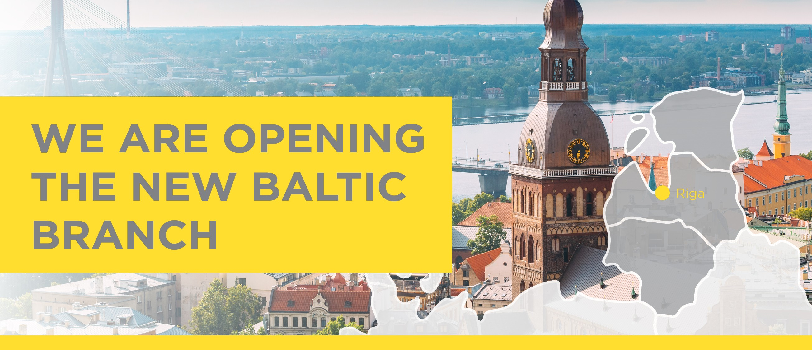 We are opening the new Baltic branch photo