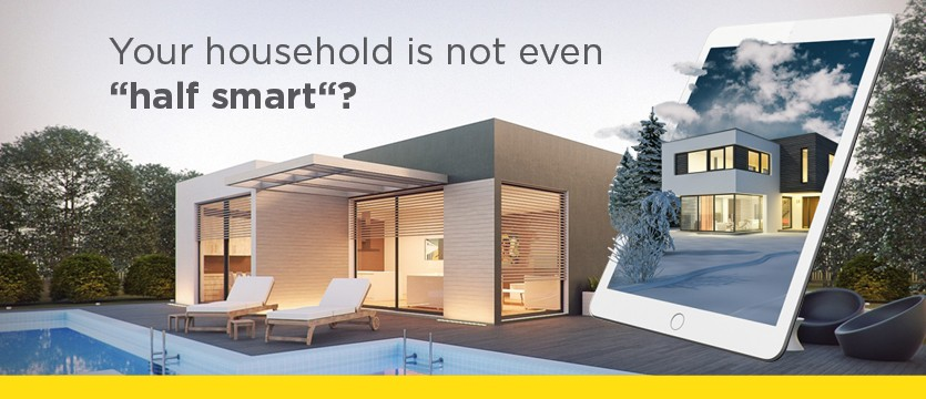 "Your household is not even ''half smart""? photo"