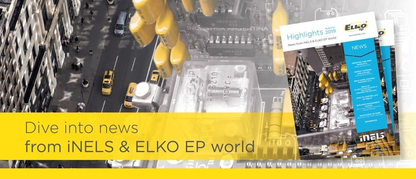 Dive into news from iNELS and ELKO EP world photo