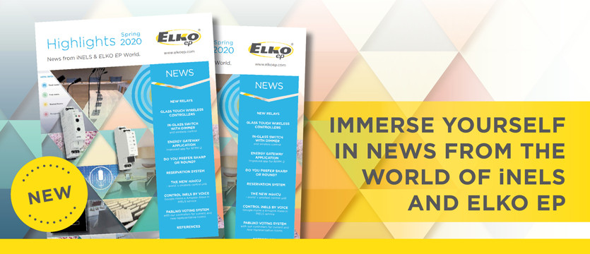 Immerse yourself in news from the world of iNELS and ELKO EP photo