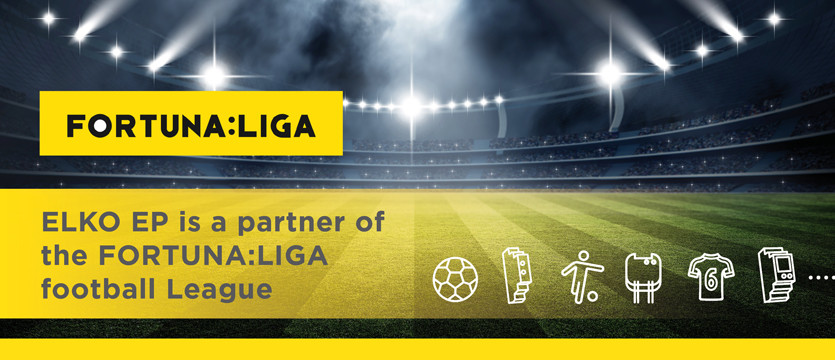ELKO EP is a partner of the FORTUNA:LIGA football League photo