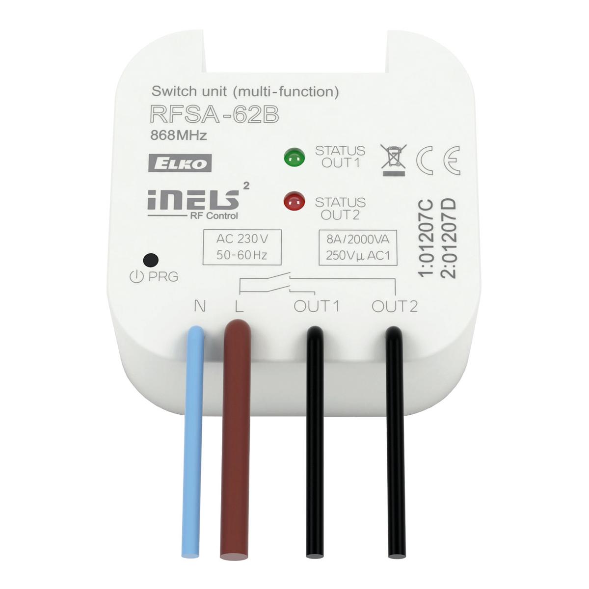 Wireless Switch Unit Inbuilt 2 Outputs Rfsa 62b Elkoep Rf Circuit Downloads