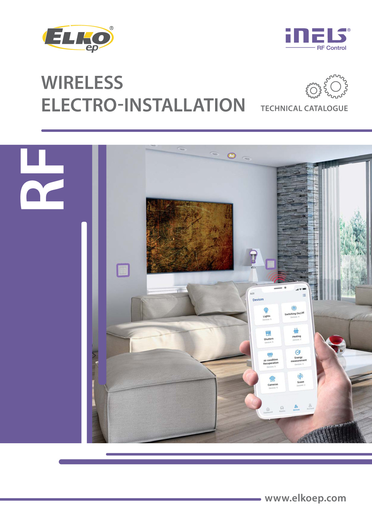 Wireless (RF) <br>electro-installation preview