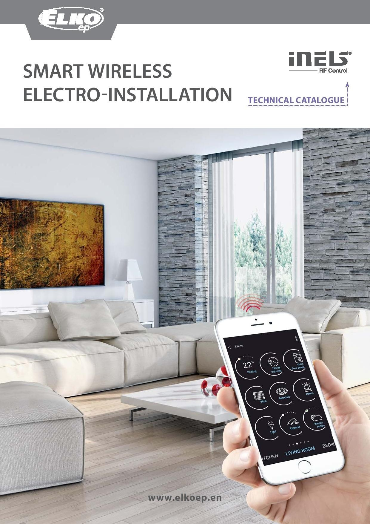 Smart wireless<br> electro-installation preview