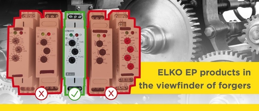 ELKO EP products in the viewfinder of forgers