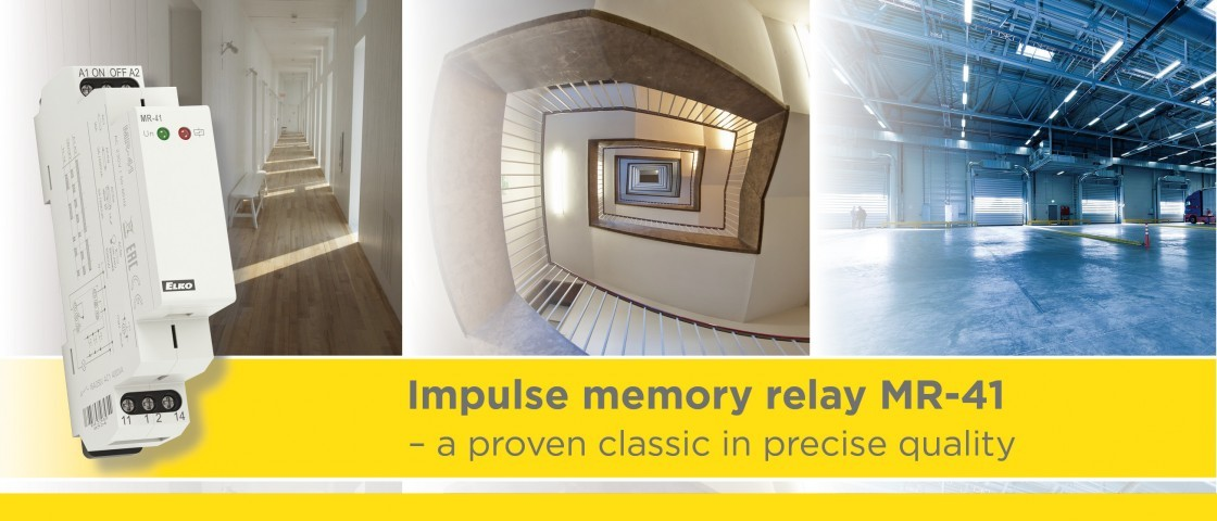 Impulse memory relay - a proven classic in precise quality