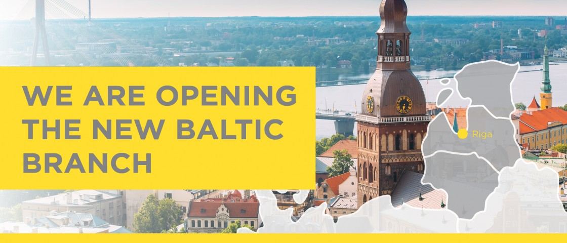 We are opening the new Baltic branch
