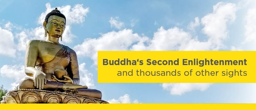 Buddha's Second Enlightenment and thousands of other sights.